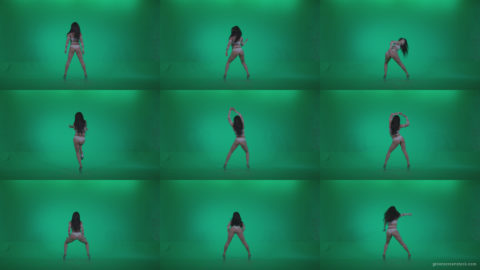 Go-go-Dancer-LiLu-e2-Green-Screen-Video-Footage Green Screen Stock