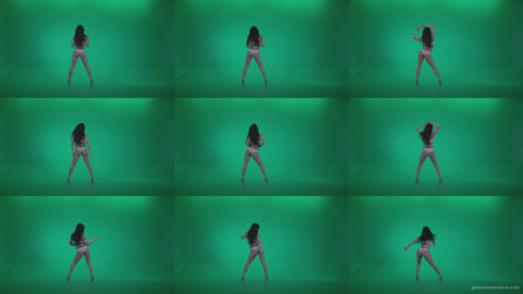 Go-go-Dancer-LiLu-e3-Green-Screen-Video-Footage Green Screen Stock