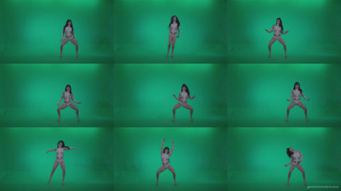 Go-go-Dancer-LiLu-e7-Green-Screen-Video-Footage Green Screen Stock