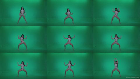 Go-go-Dancer-LiLu-e8-Green-Screen-Video-Footage Green Screen Stock