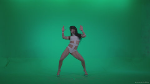 vj video background Go-go-Dancer-LiLu-e8-Green-Screen-Video-Footage_003