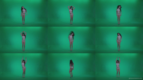 Go-go-Dancer-LiLu-e9-Green-Screen-Video-Footage Green Screen Stock