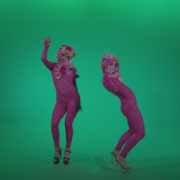 Go-go-Dancer-Pink-flowers-f1-Green-Screen-Video-Footage_006 Green Screen Stock