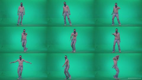 Go-go-Dancer-USA-f1 Green Screen Stock