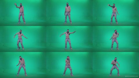 Go-go-Dancer-USA-f3 Green Screen Stock
