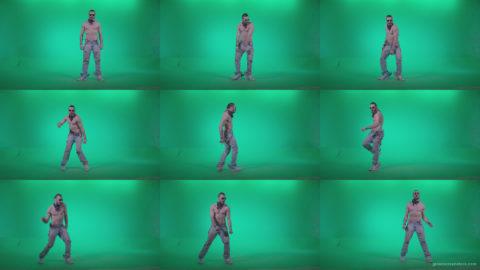Go-go-Dancer-USA-f4 Green Screen Stock