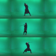 Go-go-Dancer-Warrior-w1 Green Screen Stock