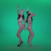 Go-go-Dancer-White-Rabbit-m5-Green-Screen-Video-Footage_007 Green Screen Stock
