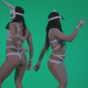 vj video background Go-go-Dancer-White-Rabbit-m6-Green-Screen-Video-Footage_003