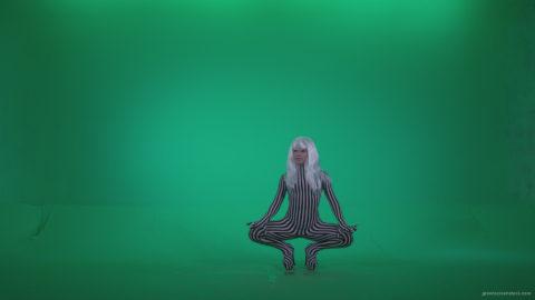 vj video background Go-go-Dancer-White-Stripes-s13-Green-Screen-Video-Footage_003