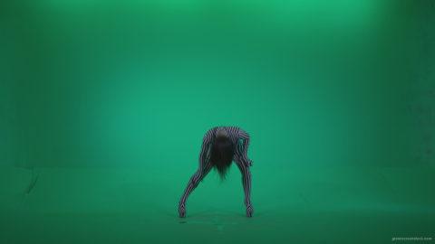 vj video background Go-go-Dancer-White-Stripes-s2-Green-Screen-Video-Footage_003