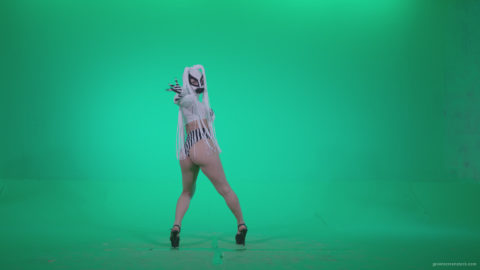 vj video background Go-go-Dancer-with-Latex-Top-t3-Green-Screen-Video-Footage_003