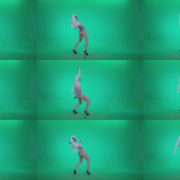 Go-go-Dancer-with-Latex-Top-t5-Green-Screen-Video-Footage Green Screen Stock
