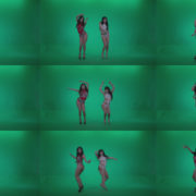 Go-go-Dancers-Red-with-LiLu-w1-Green-Screen-Video-Footage Green Screen Stock