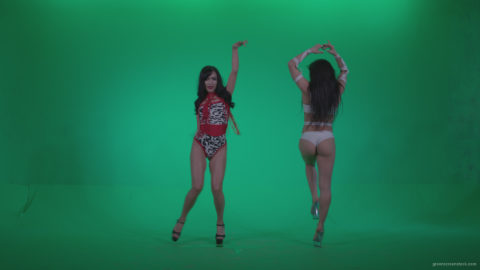 vj video background Go-go-Dancers-Red-with-LiLu-w2-Green-Screen-Video-Footage_003