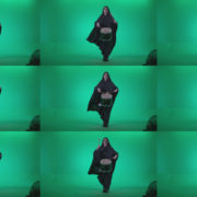 Gothic-Snare-Drumming-girl-g2 Green Screen Stock