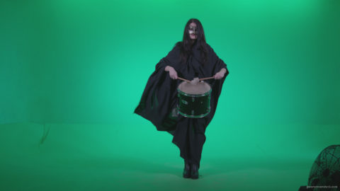 vj video background Gothic-Snare-Drumming-girl-g3_003