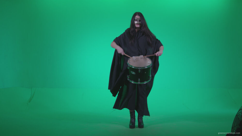 vj video background Gothic-Snare-Drumming-girl-g4_003