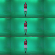 Preteen-Girl-Playing-The-Cymbals-c1 Green Screen Stock