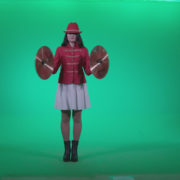 Preteen-Girl-Playing-The-Cymbals-c1_007 Green Screen Stock