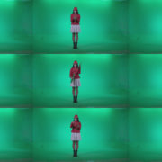 Preteen-Girl-Playing-The-Cymbals-c2 Green Screen Stock