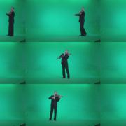 Professional-Violin-player-man-z2 Green Screen Stock