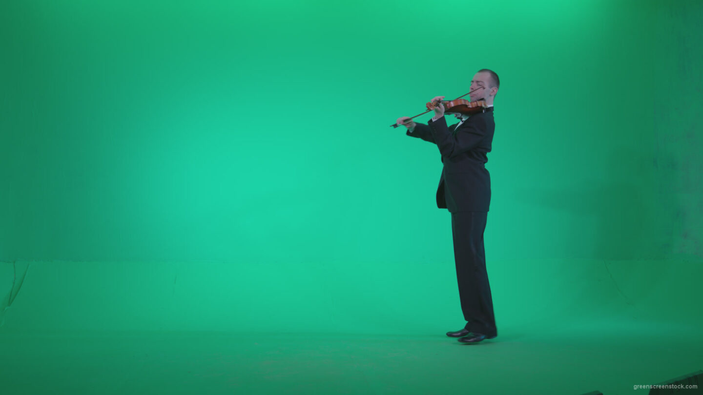 vj video background Professional-Violin-player-man-z2_003