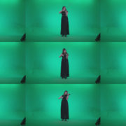 Professional-Violin-player-woman-z1 Green Screen Stock