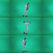 Saxophone-Virtuoso-Performer-s6-Green-Screen-Video-Footage Green Screen Stock