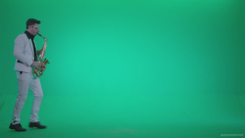 vj video background Saxophone-Virtuoso-Performer-s7-Green-Screen-Video-Footage_003