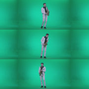 Saxophone-Virtuoso-Performer-s8-Green-Screen-Video-Footage Green Screen Stock