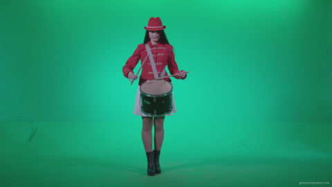vj video background Snare-Drumming-girl-w1_003