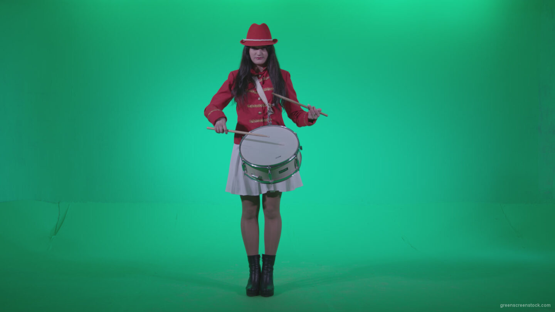 vj video background Snare-Drumming-girl-w4_003