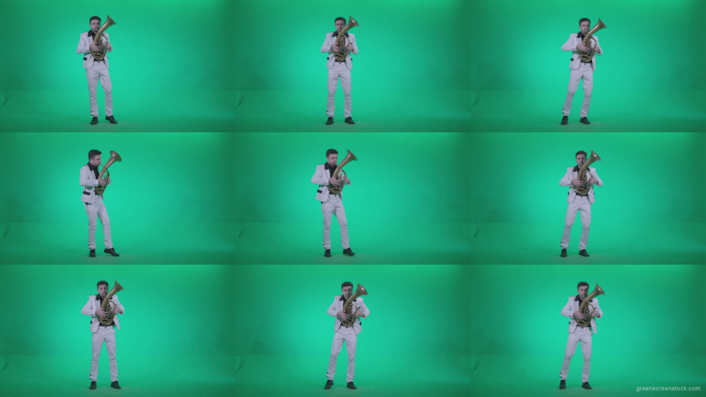 Tuba-Virtuoso-tv1 Green Screen Stock