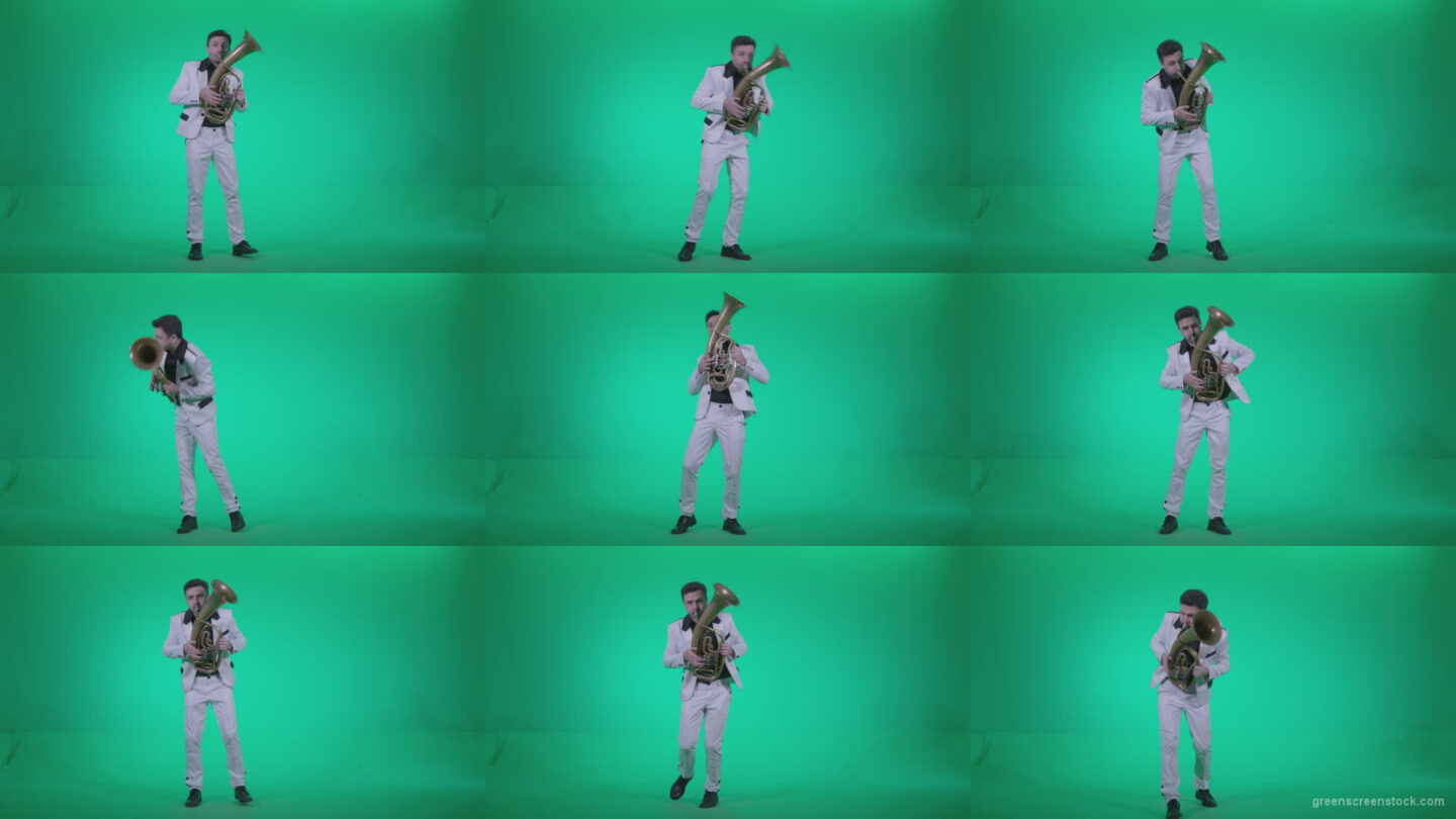 Tuba-Virtuoso-tv2 Green Screen Stock