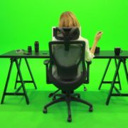 Woman-Searching-in-the-Phone-Green-Screen-Footage_004 Green Screen Stock