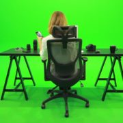 Woman-Searching-in-the-Phone-Green-Screen-Footage_007 Green Screen Stock