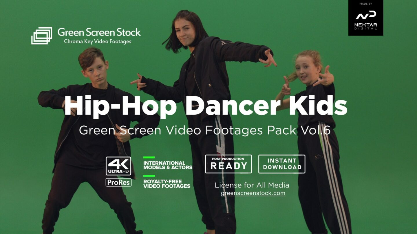 Hip-Hop Dancers Kids