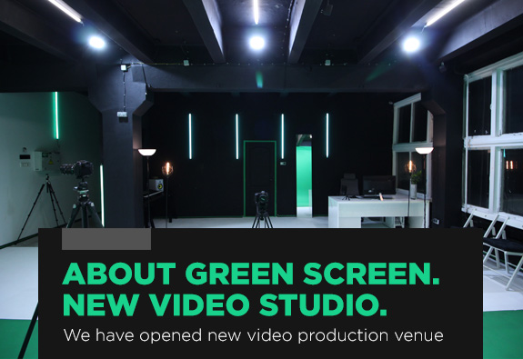 about green screen video studio