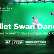green screen ballet dancer video