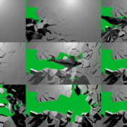 Boom-Wall-3D-Whale-Nektar-DIgital-Green-Screen-Animation Green Screen Stock