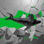 Boom-Wall-3D-Whale-Nektar-DIgital-Green-Screen-Animation_005 Green Screen Stock