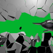 Boom-Wall-3D-Whale-Nektar-DIgital-Green-Screen-Animation_006 Green Screen Stock