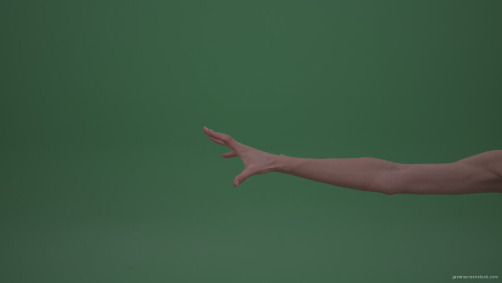vj video background Flashing-Magic-Young-Female-Hand-Moves-On-Green-Screen-Wall-ChromaKey-Background_003