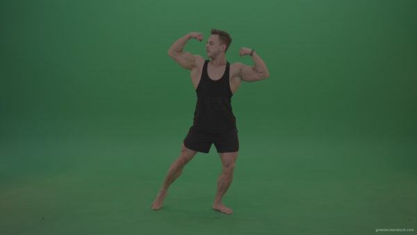 vj video background Green-Screen-Bodybuilder-fitness-trainer-show-muscules-on-green-background-2_003