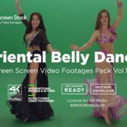 Oriental Belly Dance green screen