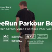 Parkour Team – Green Screen Video Footage Pack Vol.13