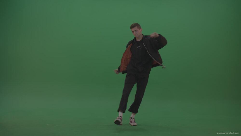 vj video background B-Boy-Man-Dancing-top-break-dance-on-green-screen-background_003