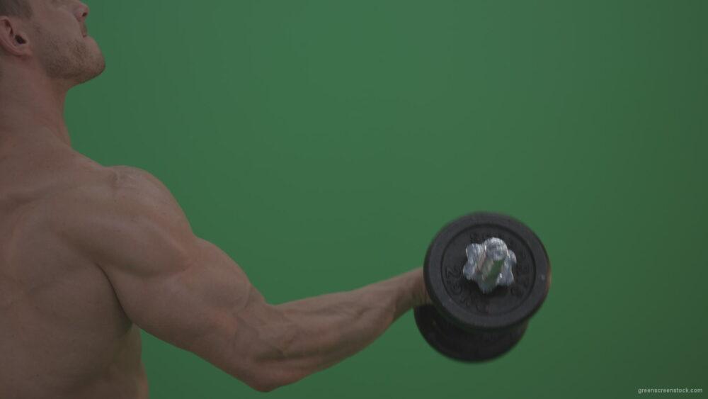 vj video background Bodybuilder-Massive-Hand-working-on-green-screen_003
