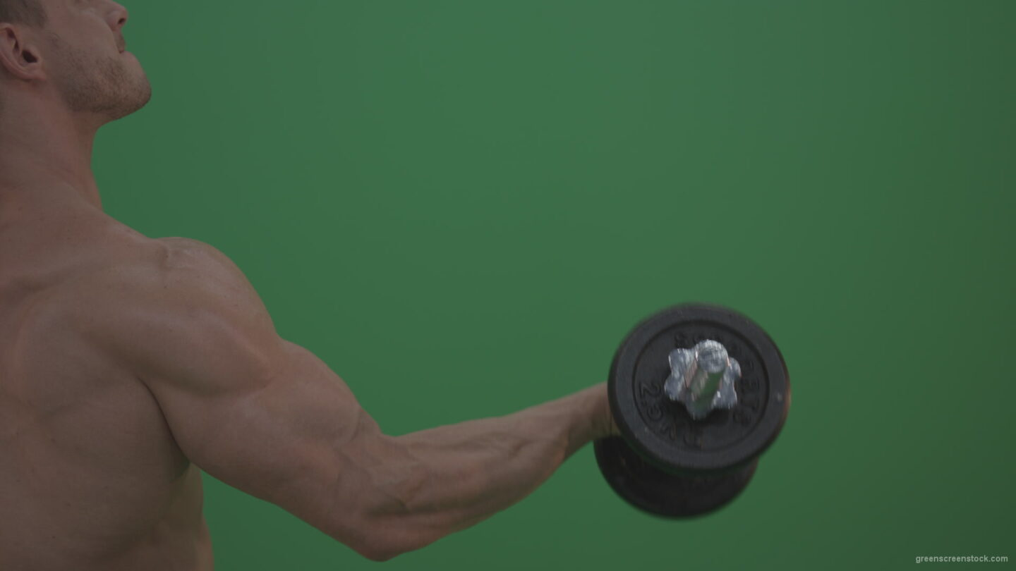 vj video background Bodybuilder-Massive-Hand-working-on-green-screen_003